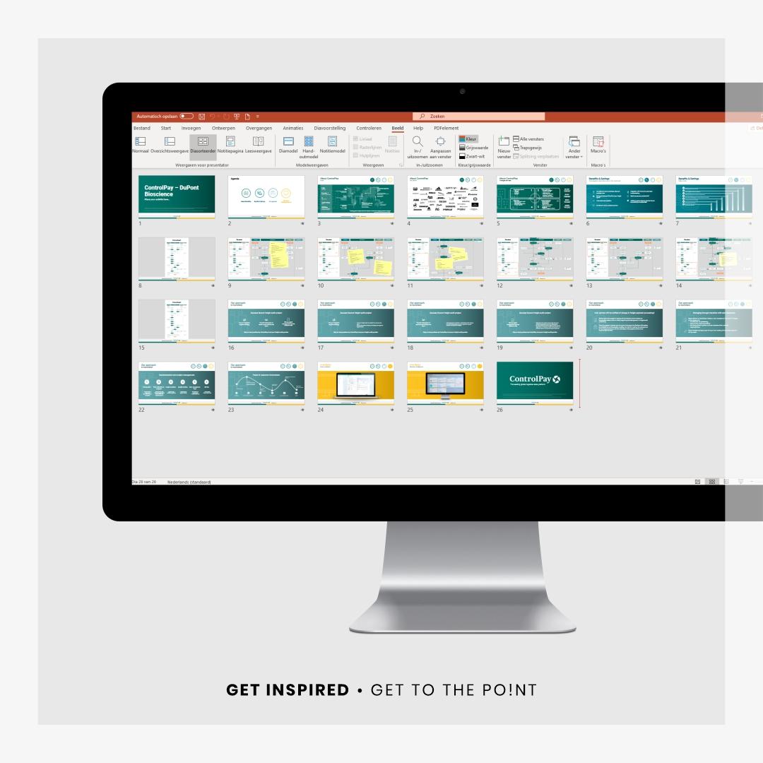 Sales presentatie Controlpay