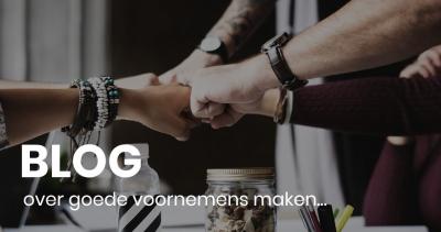blog over goede voornemens maken